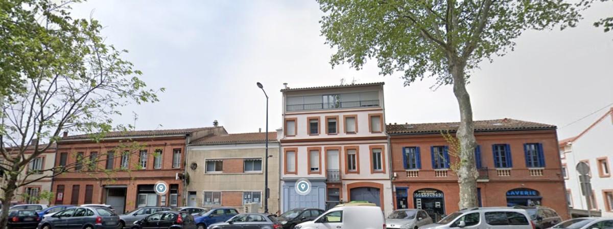 Appartement neuf Toulouse Saint Agne – vue sur des rues à Saint-Agne