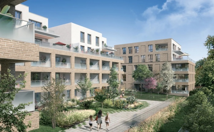 Appartements neufs Montaudran référence 5041 : aperçu n°0