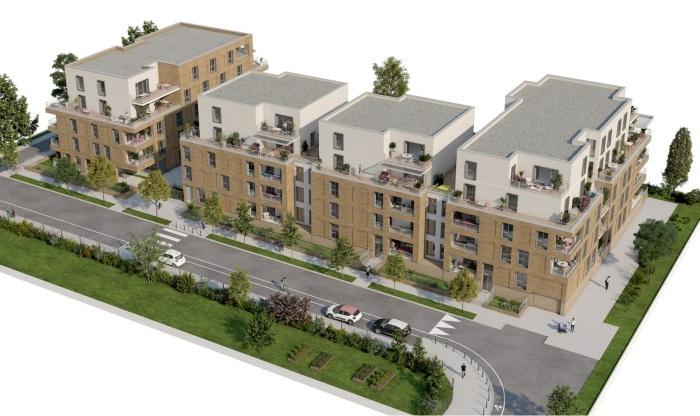 Appartements neufs Montaudran référence 5041 : aperçu n°4