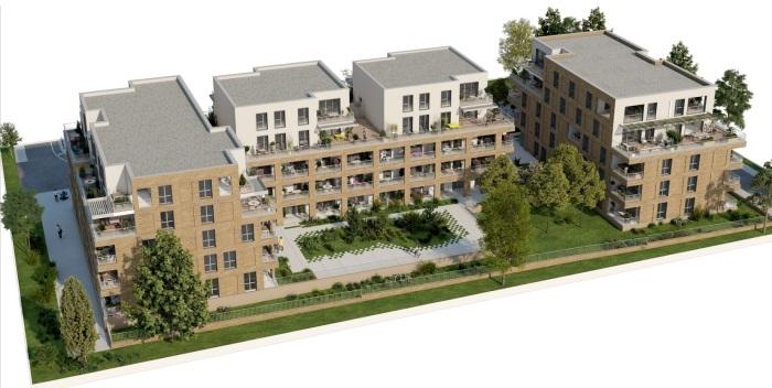Appartements neufs Montaudran référence 5041 : aperçu n°5