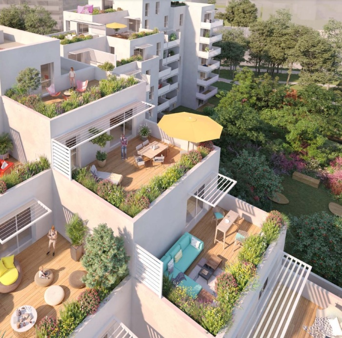 Appartements neufs Saint-Martin-du-Touch référence 5043 : aperçu n°3