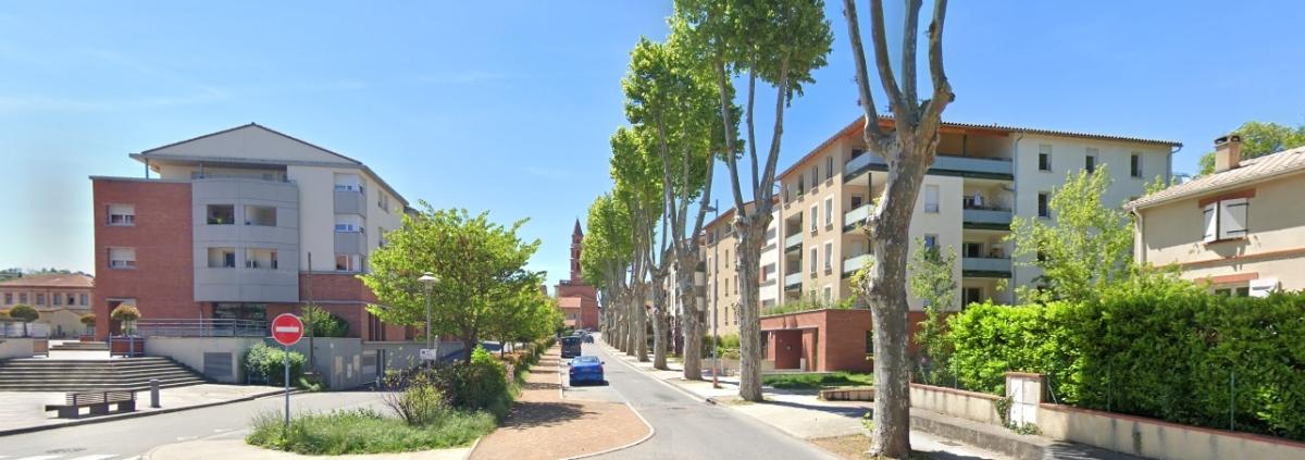 Logement neuf Castanet Tolosan - vue sur le centre-ville de Castanet-Tolosan