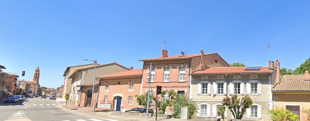 Logement neuf Castanet Tolosan - vue sur les différentes maisons de Castanet-Tolosan