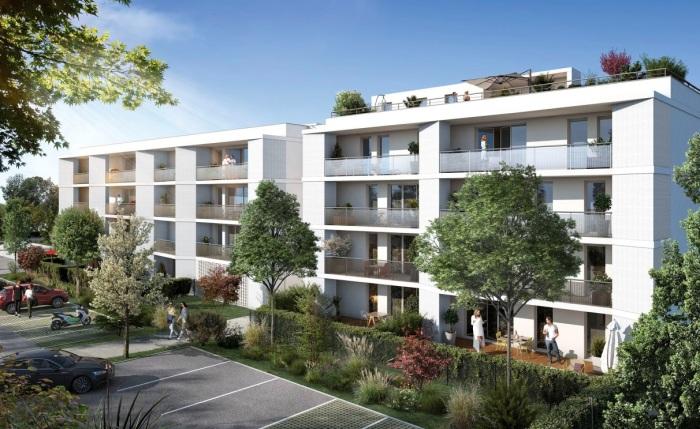 Appartements neufs L'Union référence 5072 : aperçu n°4