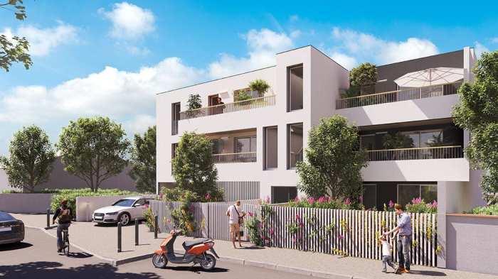 Appartements neufs Borderouge référence 5098 : aperçu n°0