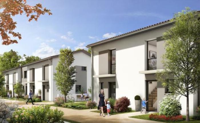 Maisons neuves Villeneuve-Tolosane référence 5104 : aperçu n°0
