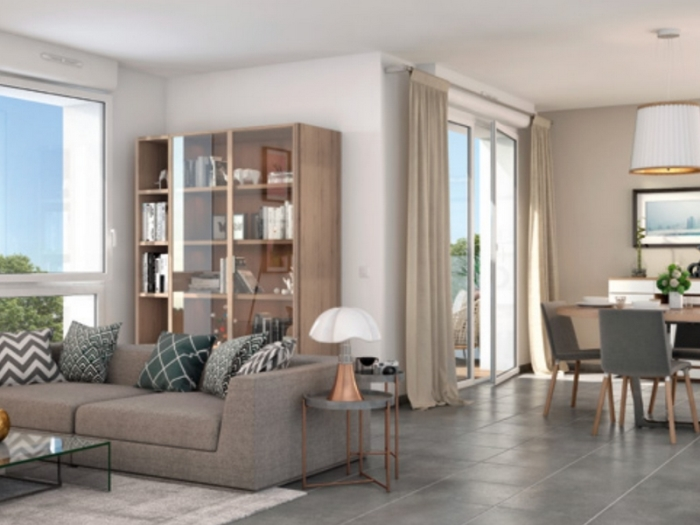 Appartements neufs Pibrac référence 4698 : aperçu n°1
