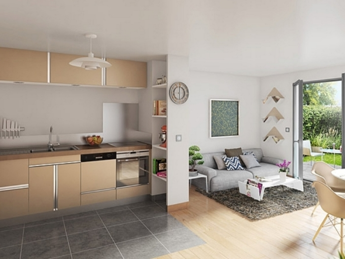Appartements neufs Montaudran référence 4937 : aperçu n°1