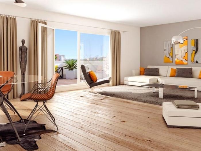 Appartements neufs Les Amidonniers référence 4747 : aperçu n°1