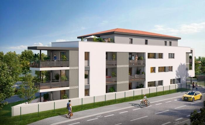 Appartements neufs Lafourguette référence 5079 : aperçu n°0