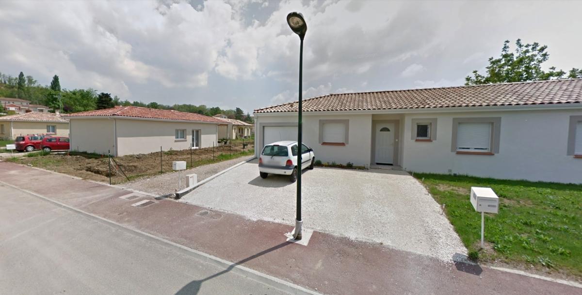 Immobilier neuf Bruguières - vue sur un lotissement à Bruguières