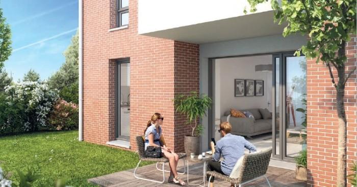 Appartements neufs Aucamville référence 4719 : aperçu n°2