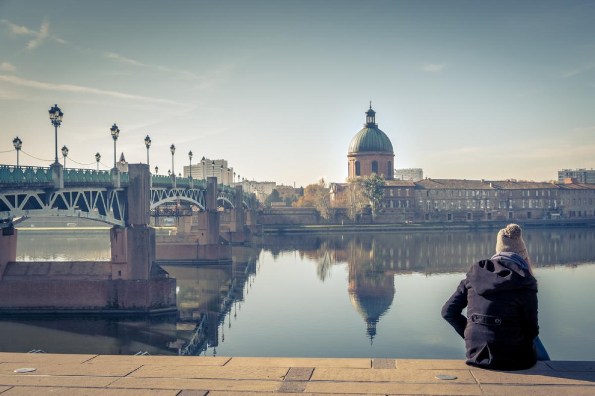 vue sur la Garonne en hiver - réduire sa facture d'électricité