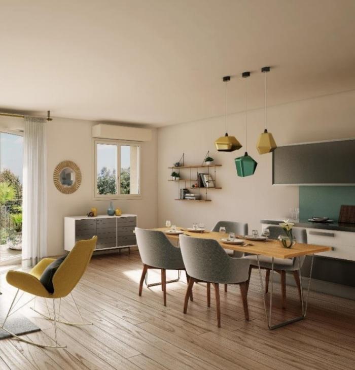Appartements neufs Saint-Jory référence 5158 : aperçu n°2
