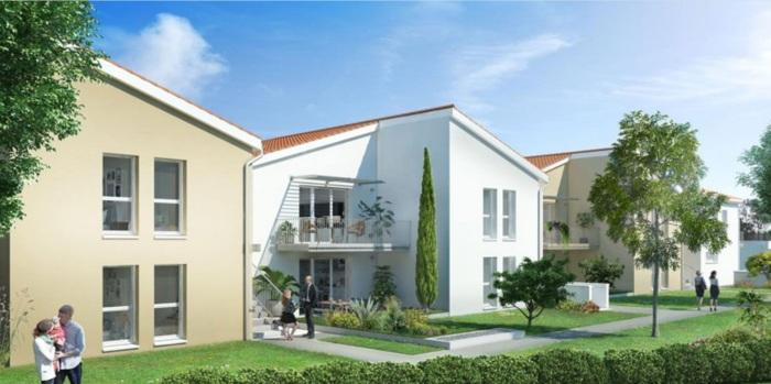 Appartements neufs Castelginest référence 5163 : aperçu n°0