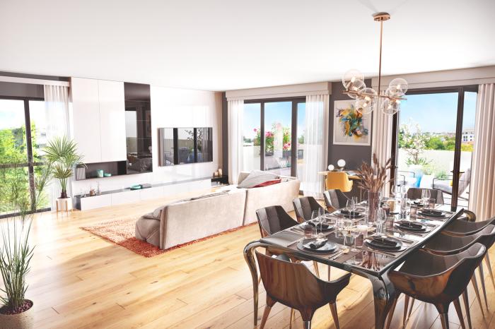 Maisons neuves et appartements neufs Lalande référence 5157 : aperçu n°2