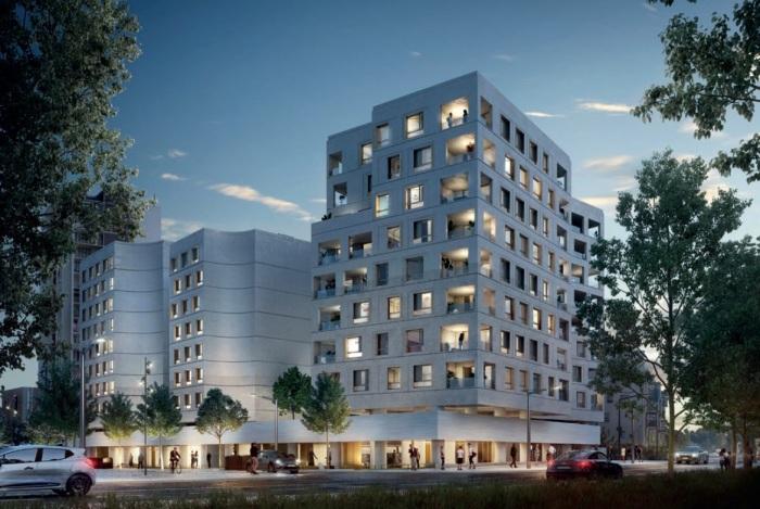 Appartements neufs Saint-Agne référence 5215 : aperçu n°2