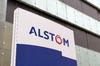 3ème ligne de métro à Toulouse - Le logo d'Alstom devant un bâtiment.
