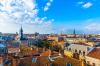 Vue aérienne sur les toits de Toulouse