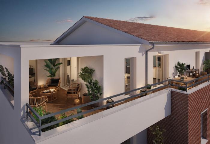 Appartements neufs Lalande référence 5279 : aperçu n°2