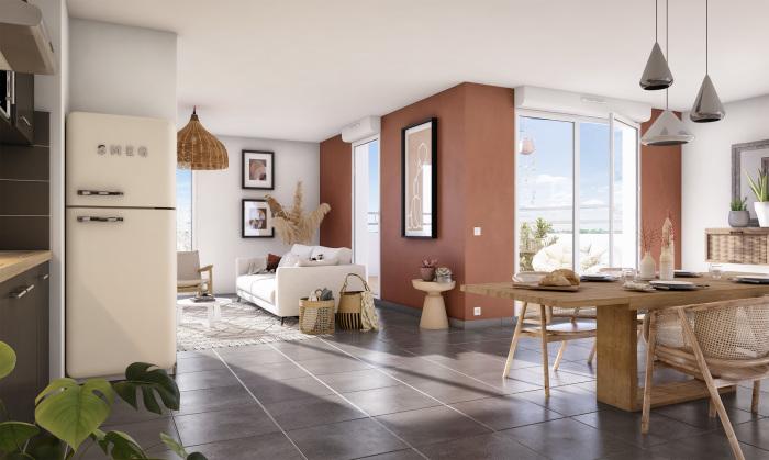 Appartements neufs Lalande référence 5279 : aperçu n°1
