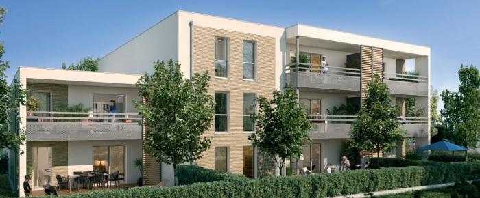 Appartements neufs Villeneuve-Tolosane référence 5336 : aperçu n°0
