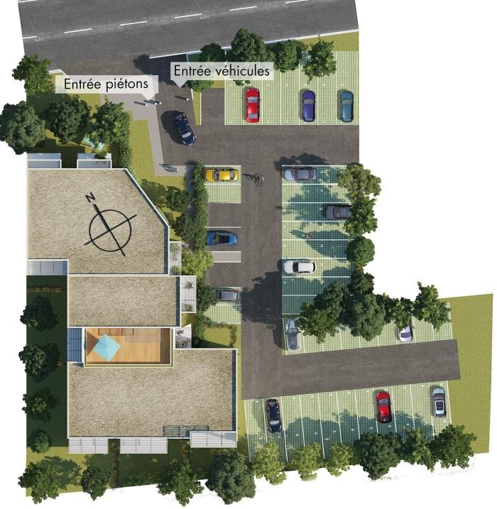 Appartements neufs Labarthe-sur-Lèze référence 5436 : aperçu n°2