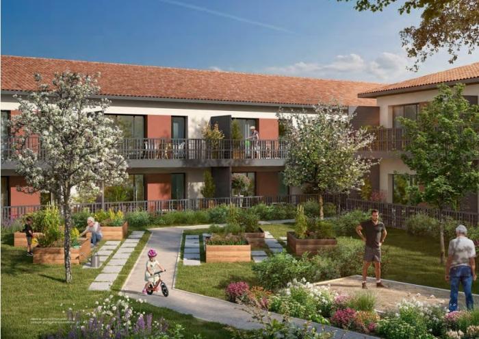 Appartements neufs Saint-Alban référence 5343 : aperçu n°5