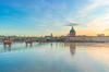 Le dôme de la Grave et la Garonne à Toulouse