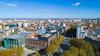 immobilier à Toulouse – le quartier Compans-Caffarelli à Toulouse vue du ciel