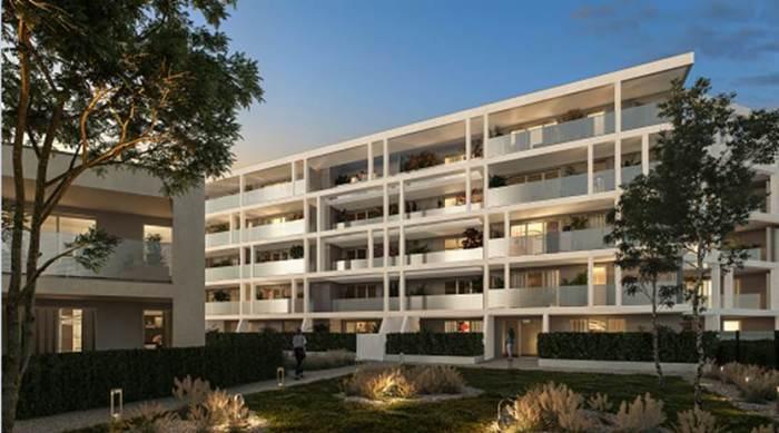 Appartements neufs La Roseraie référence 5441 : aperçu n°0