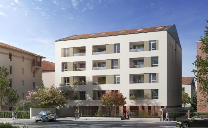 Appartements neufs Purpan référence 5449 : aperçu n°2