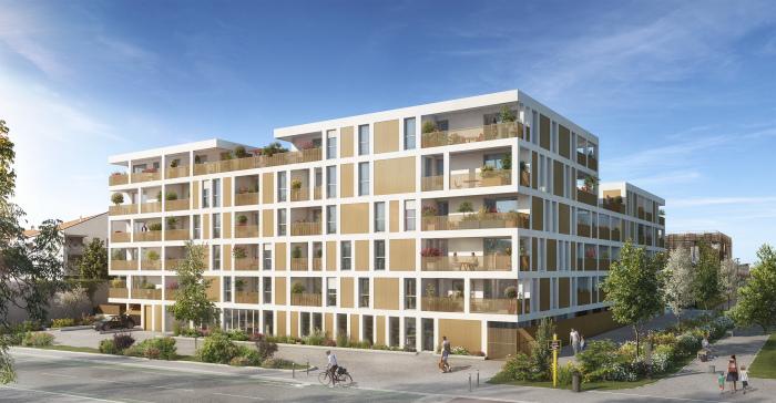 Appartements neufs Barrière de Paris référence 5479 : aperçu n°0