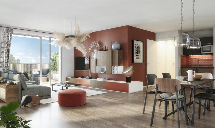 Appartements neufs Barrière de Paris référence 5479 : aperçu n°1
