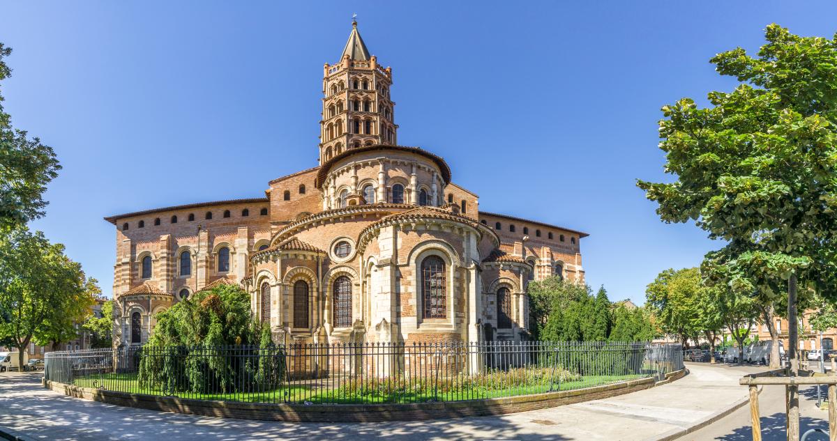 Histoire de Toulouse - Basilique Saint-Sernin