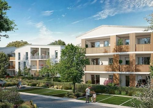 Appartements neufs Villeneuve-Tolosane référence 5490
