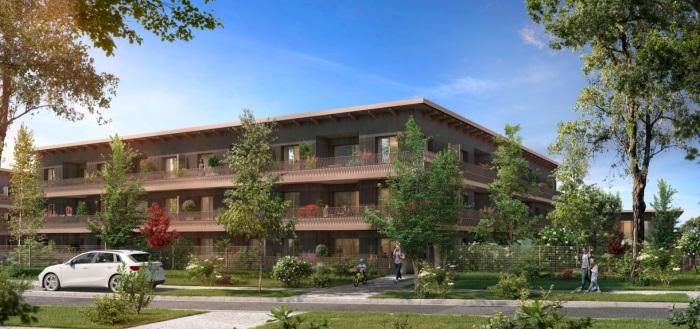 Maisons neuves et appartements neufs Cornebarrieu référence 5508 : aperçu n°2