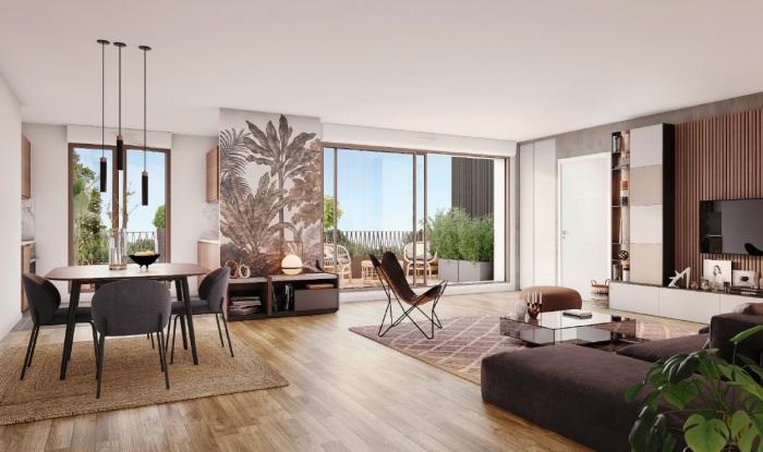 Maisons neuves et appartements neufs Cornebarrieu référence 5508 : aperçu n°1