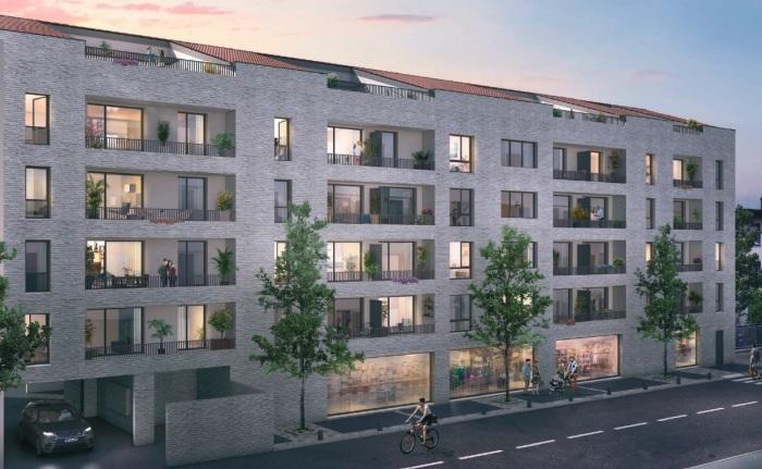 Appartements neufs Pont des Demoiselles référence 5521 : aperçu n°0