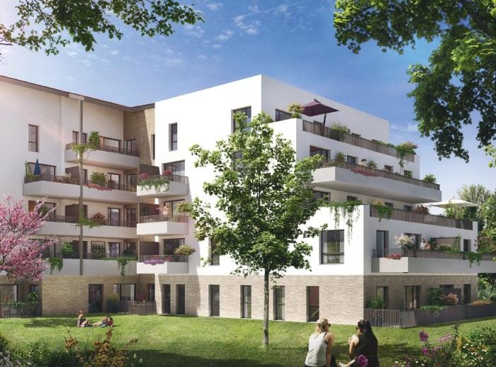 Appartements neufs Pont des Demoiselles référence 5521 : aperçu n°4