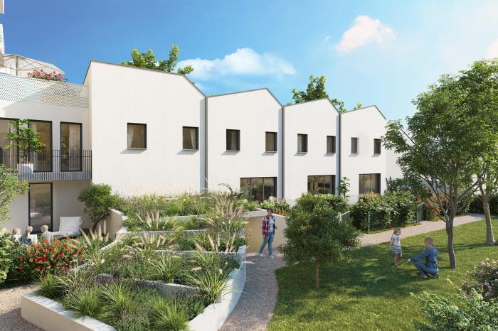 Maisons neuves et appartements neufs Patte d'Oie référence 5510 : aperçu n°2