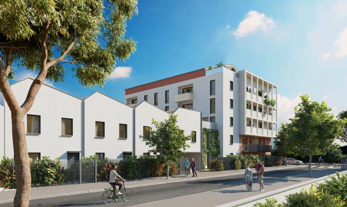 Maisons neuves et appartements neufs Patte d'Oie référence 5510 : aperçu n°3