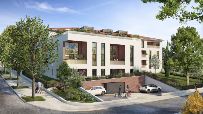Appartements neufs Saint-Orens-de-Gameville référence 5512 : aperçu n°2