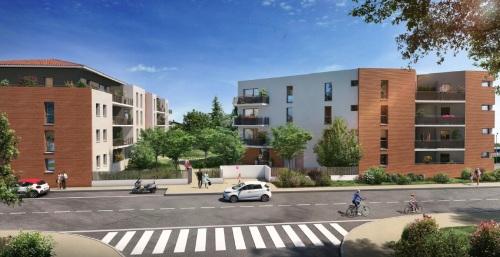 Appartements neufs Croix-Daurade référence 5550