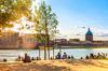 La place de la Daurade à Toulouse