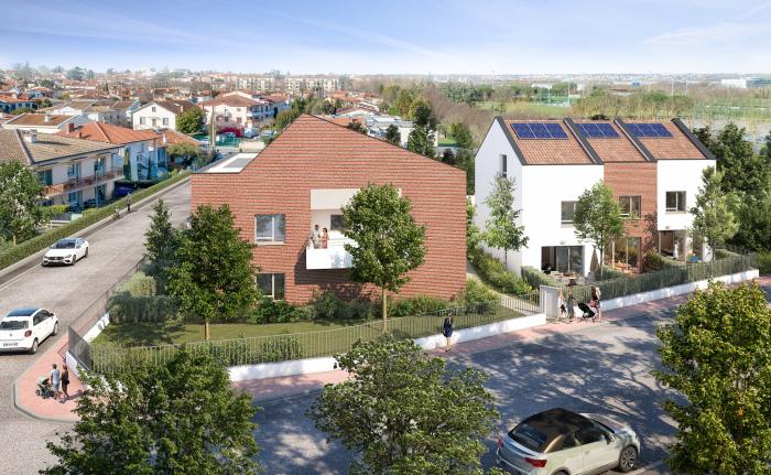 Maisons neuves et appartements neufs La Roseraie référence 5536 : aperçu n°0