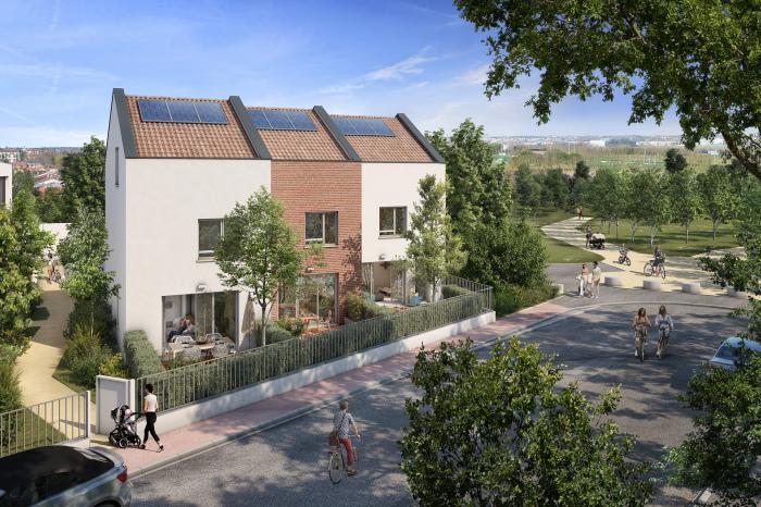 Maisons neuves et appartements neufs La Roseraie référence 5536 : aperçu n°2