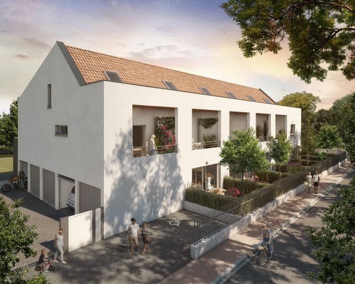 Maisons neuves et appartements neufs La Roseraie référence 5536 : aperçu n°3