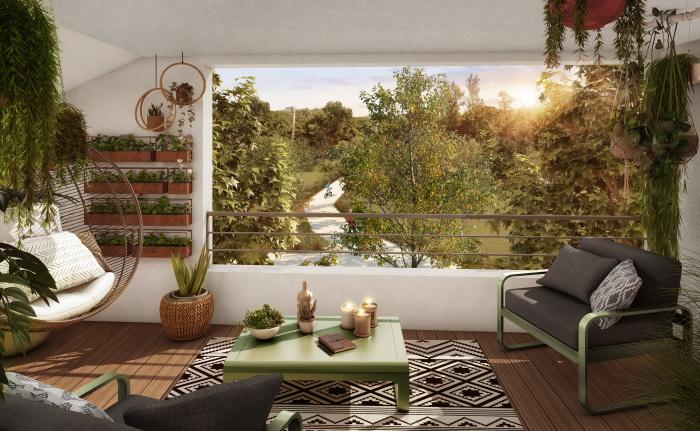 Maisons neuves et appartements neufs La Roseraie référence 5536 : aperçu n°4