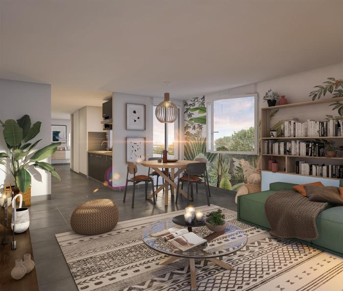 Maisons neuves et appartements neufs La Roseraie référence 5536 : aperçu n°1